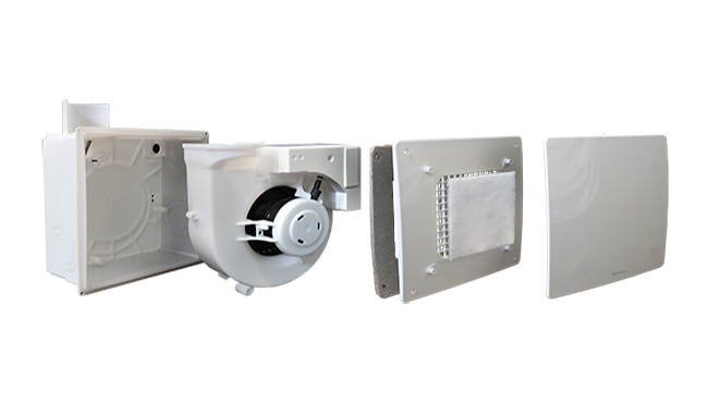 The QXD units are suitable for extracting stale air from small / medium-sized environments such as toilets and bathrooms in homes